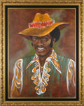 Movie/TV Memorabilia:Props, Starsky & Hutch Prop Huggy Bear Portrait....