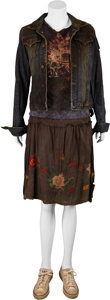 Movie/TV Memorabilia:Costumes, Mia Maestro's Poseidon Screen-Worn Costume.... (Total: 4Items)