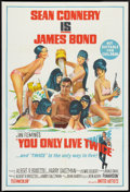"Movie Posters:James Bond, You Only Live Twice (United Artists, 1967). Australian One Sheet(27"" X 40"") Style B. James Bond.. ..."