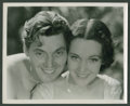 """Movie Posters:Adventure, Johnny Weissmuller and Maureen O'Sullivan in """"Tarzan and His Mate""""(MGM, R-1950s). Stills (5) (8"""" X 10""""). Adventure.. ... (Total: 5Items)"""