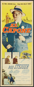 "Movie Posters:Crime, Al Capone Lot (Allied Artists, 1959). Inserts (2) (14"" X 36""). Crime.. ... (Total: 2 Items)"