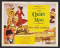 """Movie Posters:Drama, The Quiet Man (Republic, 1952). Title Lobby Card and Lobby Cards(6) (11"""" X 14""""). Drama.. ... (Total: 7 Items)"""