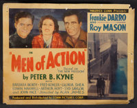 """Men of Action (Conn, 1935). Lobby Card Set of 8 (11"""" X 14""""). Action. ... (Total: 8 Items)"""