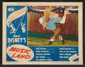 "Movie Posters:Animated, Music Land (RKO, 1955). Lobby Cards (6) (11"" X 14""). Animated.. ...(Total: 7 Items)"