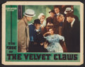 """Movie Posters:Mystery, The Case of the Velvet Claws (First National, 1936). Lobby Card (11"""" X 14""""). Mystery.. ..."""