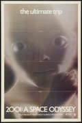 "Movie Posters:Science Fiction, 2001: A Space Odyssey (MGM, 1970). One Sheet (27"" X 41"") Style D.Science Fiction.. ..."