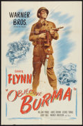 "Movie Posters:War, Objective Burma (Warner Brothers, 1945). One Sheet (27"" X 41"").War.. ..."