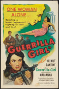 "Movie Posters:War, Guerrilla Girl (United Artists, 1953). One Sheet (27"" X 41""). War....."
