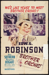 """Brother Orchid (Warner Brothers, 1940). One Sheet (27"""" X 41""""). Crime"""