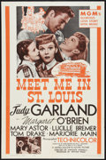 "Movie Posters:Musical, Meet Me in St. Louis (MGM, R-1962). One Sheet (27"" X 41""). Musical.. ..."