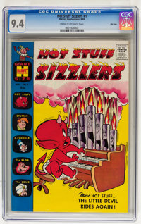 Hot Stuff Sizzlers #1 File Copy (Harvey, 1960) CGC NM 9.4 Cream to off-white pages