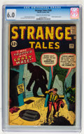 Silver Age (1956-1969):Mystery, Strange Tales #100 (Marvel, 1962) CGC FN 6.0 Cream to off-whitepages....