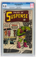 Silver Age (1956-1969):Science Fiction, Tales of Suspense #37 (Marvel, 1963) CGC VF/NM 9.0 Off-white towhite pages....