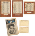 Music Memorabilia:Memorabilia, Otis Redding Telegrams and Awards.... (Total: 6 Items)