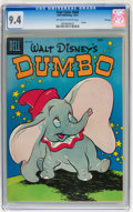 Golden Age (1938-1955):Funny Animal, Four Color #668 Dumbo - File Copy (Dell, 1955) CGC NM 9.4 Off-whiteto white pages....
