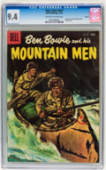 Golden Age (1938-1955):Adventure, Four Color #657 Ben Bowie and his Mountain Men - Circle 8 pedigree (Dell, 1955) CGC NM 9.4 Off-white to white pages....