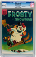 Golden Age (1938-1955):Adventure, Four Color #661 Frosty the Snowman - Circle 8 pedigree (Dell, 1955) CGC NM 9.4 Off-white to white pages....