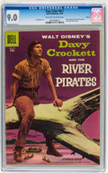 Golden Age (1938-1955):Adventure, Four Color #671 Davy Crockett and the River Pirates - Circle 8 pedigree (Dell, 1955) CGC VF/NM 9.0 Off-white to white pages....
