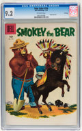 Silver Age (1956-1969):Adventure, Four Color #754 Smokey the Bear - File Copy (Dell, 1956) CGC NM- 9.2 Off-white pages....