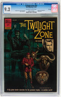 Silver Age (1956-1969):Mystery, Twilight Zone #01-860-210 File Copy (Dell, 1962) CGC NM- 9.2Off-white to white pages....
