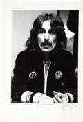Music Memorabilia:Photos, George Harrison - John Robert Rowlands Photo, Test Print 1/5(1975)....