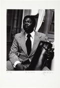 Music Memorabilia:Photos, B.B. King - John Robert Rowlands Photo Print, Artist Proof 1/15(circa 1970s)....