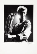 Music Memorabilia:Photos, David Bowie - John Robert Rowlands Photo Print, Artist Proof 10/15(1978). ...