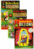 Bronze Age (1970-1979):Cartoon Character, Richie Rich Billions File Copy Group (Harvey, 1974-82) Condition:Average NM-.... (Total: 46 Comic Books)