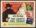"Movie Posters:Crime, The Saint's Girl Friday (RKO, 1954). Half Sheet (22"" X 28"") Style A. Crime.. ..."