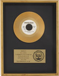 "Music Memorabilia:Awards, Elvin Bishop ""Fooled Around and Fell in Love"" RIAA Gold SingleAward...."