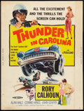 "Movie Posters:Sports, Thunder in Carolina (Howco, 1960). Poster (30"" X 40""). Sports.. ..."