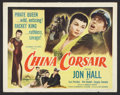 "Movie Posters:Adventure, China Corsair (Columbia, 1951). Half Sheet (22"" X 28""). Adventure....."