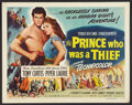 """Movie Posters:Adventure, The Prince Who Was a Thief (Universal International, 1951). Half Sheet (22"""" X 28"""") Style B. Adventure.. ..."""