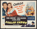 "Movie Posters:War, Sealed Cargo (RKO, 1951). Half Sheet (22"" X 28"") Style A. War.. ..."
