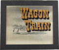 Movie/TV Memorabilia:Original Art, Wagon Train Opening Title Art....