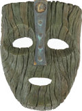 Movie/TV Memorabilia:Props, The Mask Screen-Used Prop Mask. ...