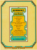 Music Memorabilia:Posters, Fillmore East Final Concerts Poster (Bill Graham, 1971)....