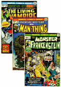 Bronze Age (1970-1979):Horror, Marvel Bronze Age Horror Group (Marvel, 1970s).... (Total: 26 Comic Books)