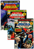 Bronze Age (1970-1979):Horror, Tomb of Dracula #48-70 Group (Marvel, 1976-79) Condition: AverageVF.... (Total: 23 Comic Books)