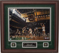 Basketball Collectibles:Photos, Larry Bird Signed Photograph....