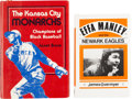Baseball Collectibles:Publications, Negro League Legends Multi Signed Books Lot of 2....