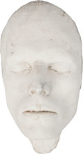Movie/TV Memorabilia:Memorabilia, David Bowie Life Mask....