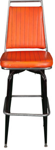 Movie/TV Memorabilia:Props, Dukes of Hazzard Prop Bar Stool....