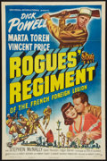 "Movie Posters:Adventure, Rogues' Regiment (Universal, 1948). One Sheet (27"" X 41"").Adventure.. ..."