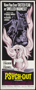 "Movie Posters:Cult Classic, Psych-Out (American International, 1968). Insert (14"" X 36""). CultClassic.. ..."