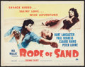 "Movie Posters:Adventure, Rope of Sand (Paramount, 1949). Half Sheet (22"" X 28"") Style B.Adventure.. ..."