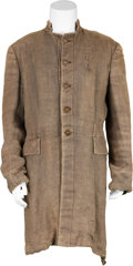 Movie/TV Memorabilia:Costumes, Buck and the Preacher - Harry Belafonte Screen-Worn Coat....