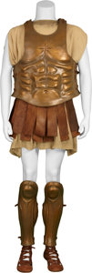 "Movie/TV Memorabilia:Costumes, Alexander Screen-Worn ""Sun"" Armor.... (Total: 7 Items)"