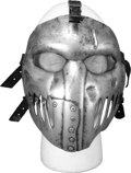 Movie/TV Memorabilia:Costumes, Batman & Robin - Mr. Freeze Henchman Hockey Mask I....