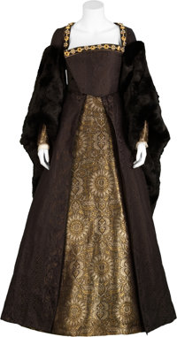 The Other Boleyn Girl - Kristin Scott Thomas Screen-Featured Black Evening Gown